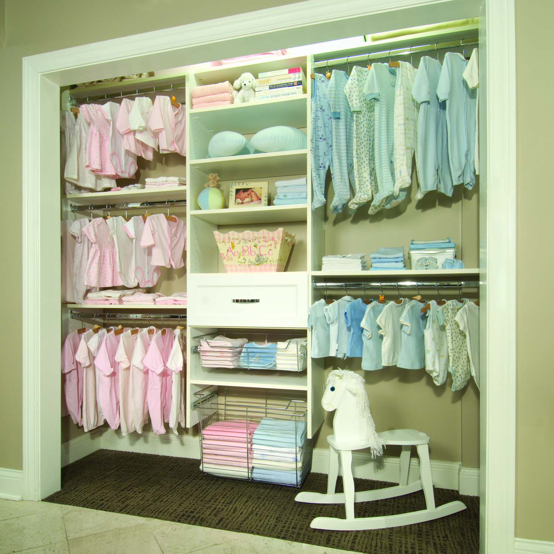 Baby Closet Organizer: Simply Closets, Blinds & Designs